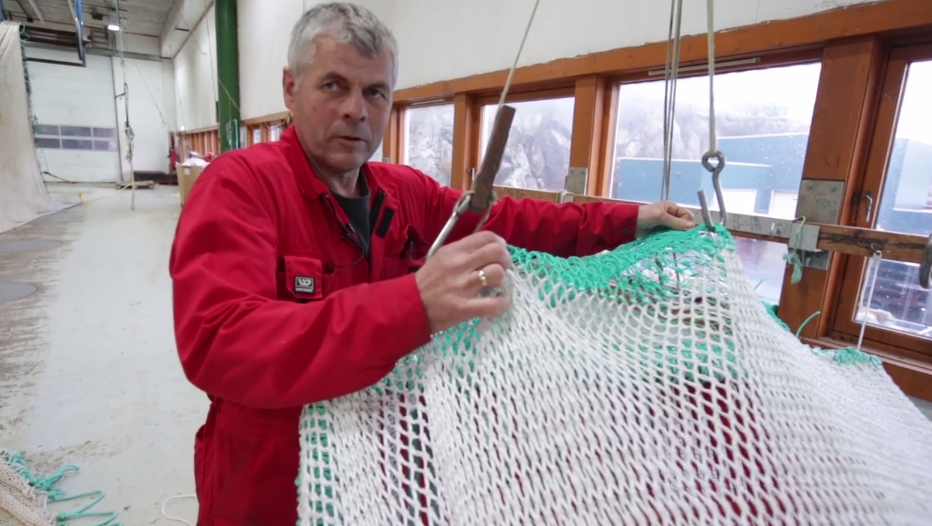 Frank, a Norwegian fisherman